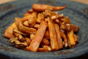 Sweet Potato Fries on a plate