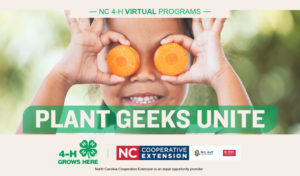 Cover photo for 4-H Plant Geeks Unite!