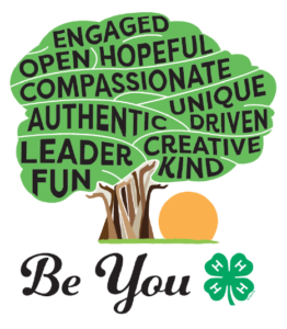 4-H Be You Logo