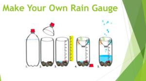 Rain gauge instructions