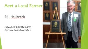 Local Farmer Bill Holbrook