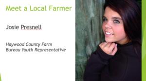Local Farmer Jodie Presnell