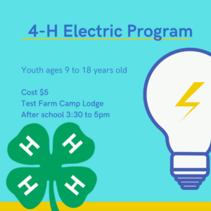 Cover photo for 4-H Electric Program