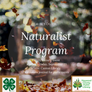 Cover photo for 4H Youth Naturalist Program