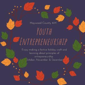 Cover photo for 4-H Entrepreneurship Series